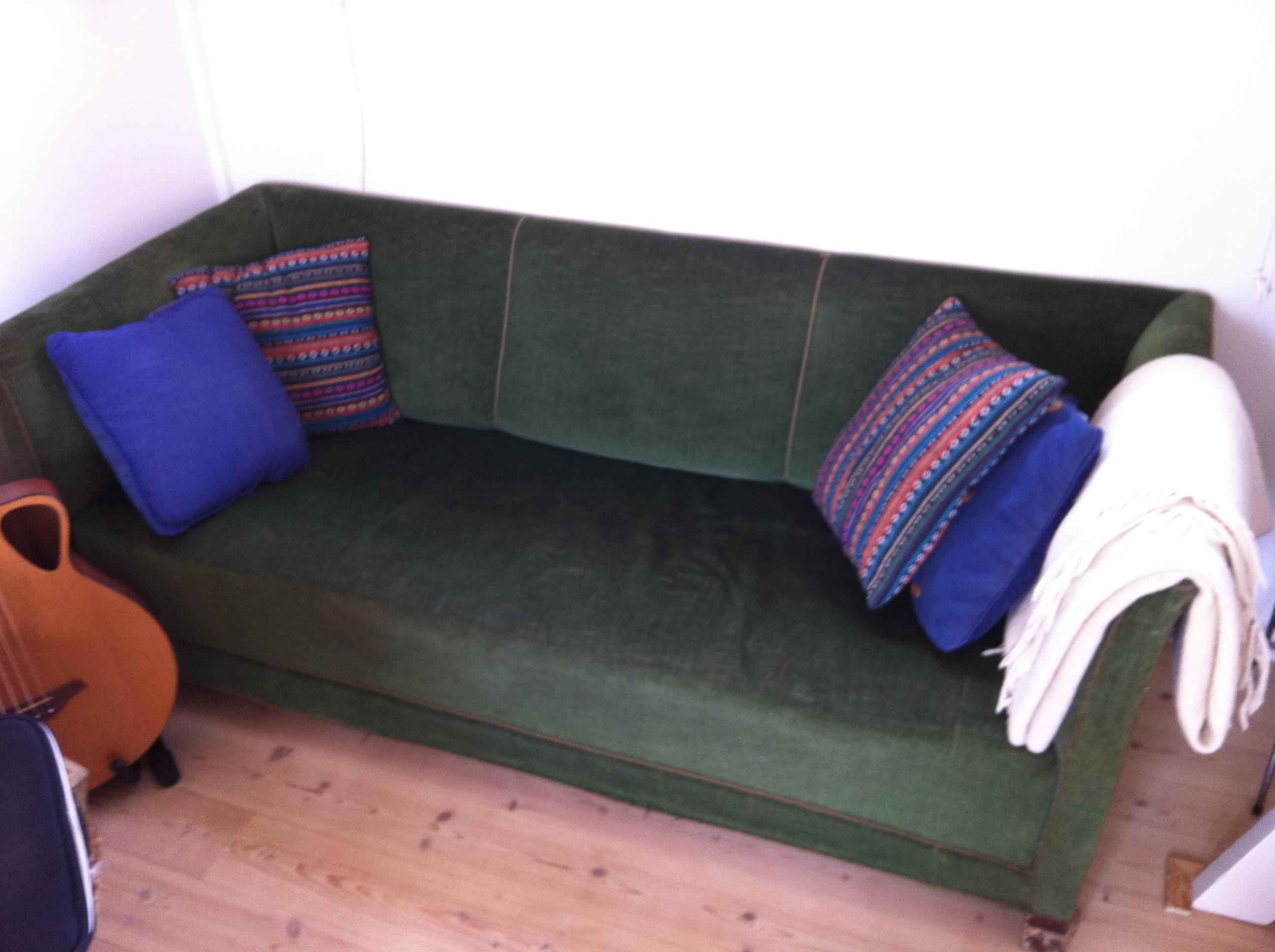 Sofa gives væk