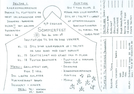 Invitation til Sommerfest